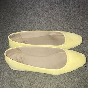 Naturalizer Shoes - Naturalized yellow suede leather shoes 10